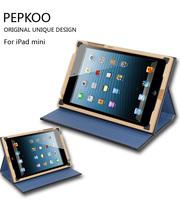 The wood book case cover for ipad mini/Retina