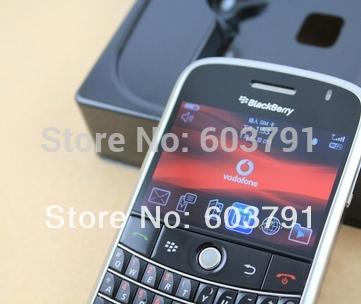 Blackberry bold 9000 rénové. original téléphone cellulaire déverrouillé smartphone livraison gratuite