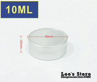Wholesale 15mmx40mm 50pcs/lot 10ml mat aluminum Jars,cream & cosmetics container,electronic protect,LAJ-02a