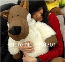 popular large stuffed wolf