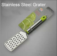Free Shipping Stainless Steel Cheese Grater  Handheld Food Graters/Chopper