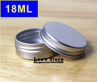 Wholesale 20mmx38mm 50pcs/lot 18ml mat aluminum Jars,cream & cosmetics container,electronic protect,LAJ-10a