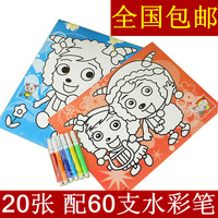10 set Large painting set educational toys yiwu