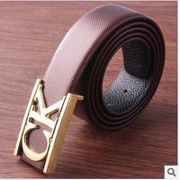free shipping more color jeans genuine leather belts for men leisure brand men waist belt