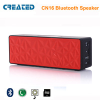 CREATED N16 portable outdoor bluetooth speaker Stereo Sound for iphone laptop  mobilephone  and tablet pc