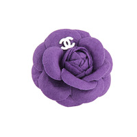 Fresh handmade vintage fabric s camellia corsage brooch dance sun hat accessories