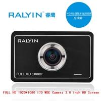 Original Brand High quality Camera Car DVR 170 degrees 3.0 inch HD LCD 1080P Night Vision G-Sensor Recorder Video Free Shipping