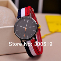JW042 International Brand Watch Men Military Watches Quartz Flag table Women Casual Canvas Nylon Fabric Casual Analog Watches