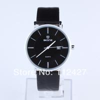 SK008-Men wristwatch Leather watches for  Men women quart watch-Free shipping