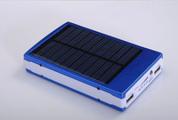 Portable 10000mah Battery Charger for Mobile phones, Solar External Power Charger