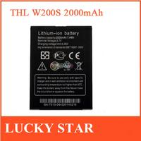 100% Original 2000MAH THL Rechangeable Phone Battery For THL W200S Cell Phone