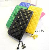 2014 Free Shipping Hot Sale Women's Wallets, Leather Purse,Handbags,1pce Wholesale, Quality Guarantee.CX35