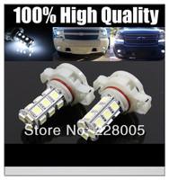 2pcs/lot LED fog light 5202 H16 18SMD 5050 bulb, Car fog light H16 LED bulb 12V daytime running lights