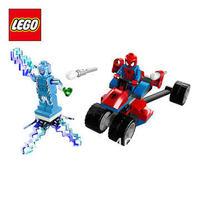 Free Shipping NEW Original educational brand lego Blocks toys 76014 super hero seriesSpider-Trike vs. Electro  70PCS for Gift