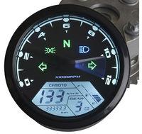New arrival Universal Adjustable LCD  Backlight Digital Speedometer Odometer Dashboard for Scooter, ATV, Street bike