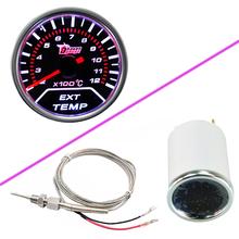"""Car Motor Universal Smoke Len 2"""" 52mm Indicator EGT Exhaust Gas Temp Gauge Meter(China (Mainland))"""