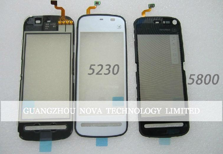 Quality Guarantee Digitizer For Nokia 5800 Touch Screen Digitizer Replacement Parts; DHL Free 50pcs/lot(China (Mainland))