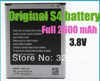 Hot Sale! 100% original new 2600mAh 3.8V Rechargeable Li-ion Replacement Battery For Samsung Galaxy S4 I9500 SIV Free Shipping