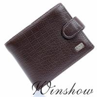 Mens Gentlemen Brown Real Genuine Leather Bifold Clutch Coin Pouch Checkbook IDCredit Card Multi Function Organizer Wallet Purse
