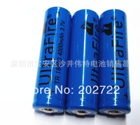 Lithium battery factory wholesale - 10 PCS strong light flashlight 18650 lithium batteries