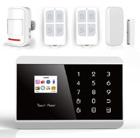 Secrui Wireless alarm system with Touch panel Color display Smartphone app control  KR-8218G