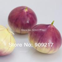 10 pcs Quality Artificial Onion Vegetables Props Accessories Decoration Fruits