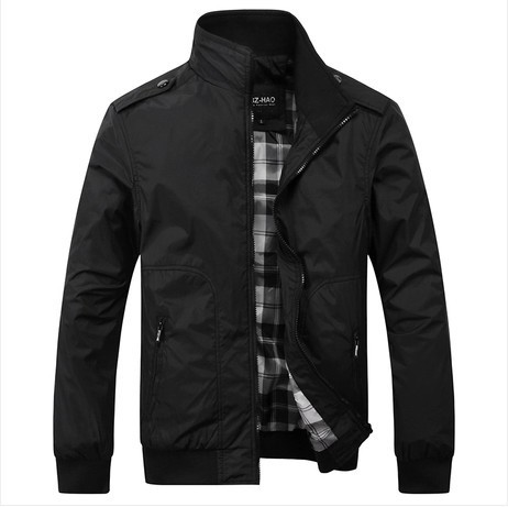 2014 new spring coats men's casual jackets, slim fit coat,cardigan style jacket free shipping .3 colours. sizeXL-5XL(China (Mainland))