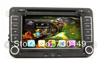 Volkswagen Android 4.1 Car DVD Player, with Full Color Button, GPS, BT,Radio, Fit VW GOLF POLO PASSAT TIGUAN TOURAN EOS CADDY