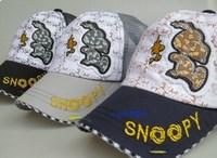 2014  spring and summer autumn baby child baseball cap mesh cap hat