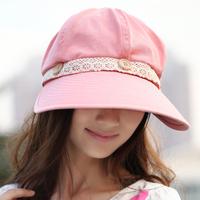 Hat female summer sun hat folding sunbonnet anti-uv beach cap large sunscreen