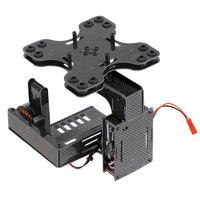 F07943 Ultralight 3-Axis Carbon Brushless Gimbal Stabilized Mount Camera PTZ Full Set for SONY N5 N7 FPV Multicppter + freeship