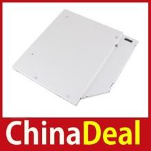 limited chinadeal 9.5mm Optical Bay 2nd SATA HDD Hard Drive Caddy Module Tray Adapter PATA IDE #1 Hot Reusable(China (Mainland))