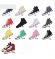 2014 new women men All size sport fashion Star Chuck High Low huarache Shoe wedge Sneaker Flat canvas casual shoes