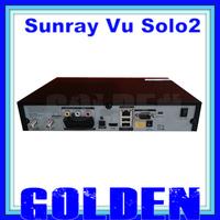 Vu solo2 twin tuner decoder vu solo 2 vusolo2 Linux reciever 1300 MHz CPU 2 dvb-s2 tuner STB digital satellite receiver lonrisun