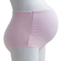 Maternity panties 100% cotton high waist adjustable maternity underwear panties 100% cotton plus size