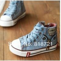 2014 Hot Sale Size25-37 Children Shoes Kids Canvas Sneakers Boys Flats Girls shoes