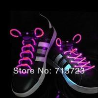 Pink LED Flashing Shoelace LED LIGHT UP SHOELACES DISCO FLASH LITE GLOW STICK NEON LED Shoelaces Shoe Laces DISCO Party Skating