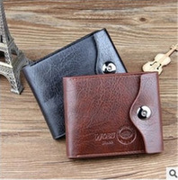 Men Wallets Free Shipping New 2014 Men's Fashion Leather purse Id Cards Holder Bag Coin Pocket Card Wallets