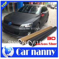 car styling accessories 3d Carbon fiber vinyl car covers sticker Whole car decals Body color change film 1.27*15 meter