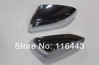 Free shipping ABS Chrome Car Rearview Side Door Mirrors Cover For sport andrange rover 2010-2012