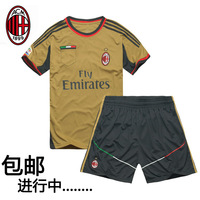 2013 - 2014 away game gold football jersey set embroidery