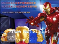 China-Wholesale Iron Man Bluetooth Speaker Mini HiFi Boombox Support Hands Free TF Card /U-Disk,Retail Package free shipping
