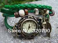 Original High Quality Women Genuine Leather Vintage Watches,Bracelet Wristwatches