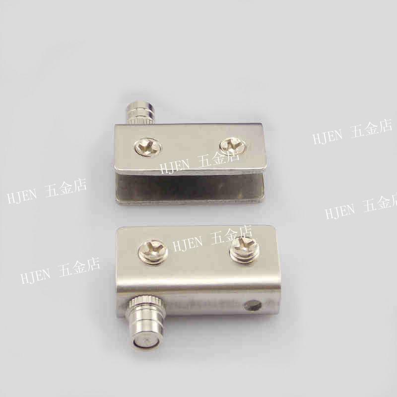 Stainless steel clip cabinet door hinge glass door hinge glass door scrollable hinge Small(China (Mainland))