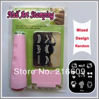 Nail Tools Professional Nail Art Stamp Stamping Polish Nail DIY Design Manicure Kit Tool Decoration