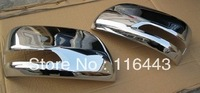 Free shipping ABS Chrome Car Rearview Side Door Mirrors Cover For Land Cruiser 200 FJ200 2012-2013
