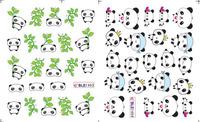 20pcs/lot Nail art tools watermark applique nail art accessories finger sticker cartoon 1489 ble  ,free shipping