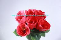 Washing Cleaning Bath Rose Flower Petals Soap Organtic Wedding Paryt Gift Favor