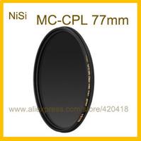77mm Circular Polarizer Polarising Lens Filter Ultra Slim Multi-Coated PRO MC CPL for Canon Nikon Fujifilm Pentax Panasonic