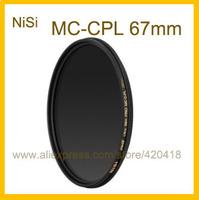 67mm Circular Polarizer Polarising Lens Filter Ultra Slim Multi-Coated PRO MC CPL for Canon Nikon Fujifilm Pentax Panasonic